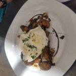 off the brunch menu - i forgot the name but this is pork and potatoes
