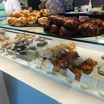 selection of cakes and hot cross buns [was easter when photo taken