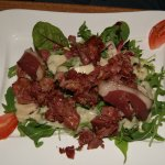 salade de gésiers de canard et jambon cru (menu)