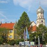 Bayerisches Städtchen am Bodensee