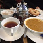 tea and soup