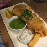 Jady's choice Fish, Chips & Peas
