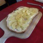tarte flambée aux pommes