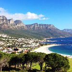 Camps Bay Beach and Twelve Apostles