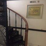 quaint staircase to gym