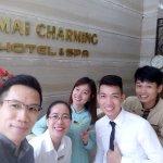 The wonderful & friendly hotel staffs
