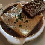 Mulconry's Irish Pub - my steak & mushroom pie