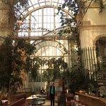inside the palmenhaus cafe