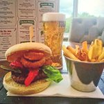 May Day Burger, Pint & Fries Offer