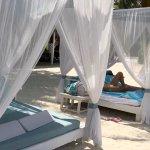 Cabanas in the Beach Club