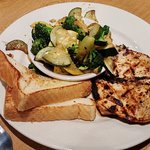charbroiled chicken, Murray's, Cayce, SC, May 2017