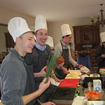 French & Cooking course - Learn successful techniques from our Chef during 4 afternoon classes !