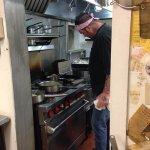 Chef Ben deForest making it happen!