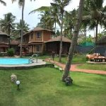 Panoramic View Of the Beach & Resort With Pool