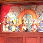 Repas spectacle avec les marionnettes