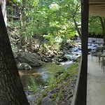 Beautiful, relaxing view and sound of the flowing creek..