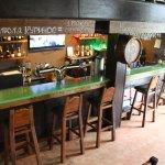Ресторан Традиции в щербинке - бар на втором этаже
