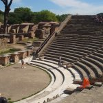 Well preserved amphitheatre.