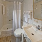 Guest Room Bath with Ceramic Tile Flooring