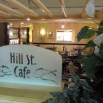 Hill St. Cafe sign