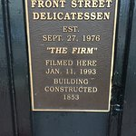 """Tom Cruise and the movie """"The Firm"""" filmed at Front St. Deli"""