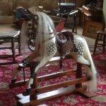 Fabulous rocking-horse in the nursery