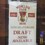 World's Fair 35th Anniversary Draft Beer