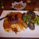 An incredibly delicious alpaca steak