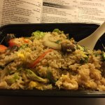 YUMMY vegetarian fried rice!
