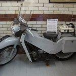 Nineteen sixties Police Bike