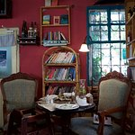 cosy old bookstore place