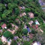 O Capim Santo visto do alto, de drone.