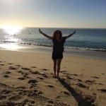 Medano Beach early morning light