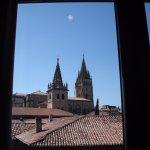 Vista de la catedral desde la habitación.