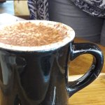 Large cappuccino