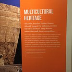 Exhibit:Cultures in the Crossfire, Information panel