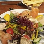 Fantastic seafood selection
