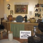 Farmhouse kitchen, real stuff donated by locals, one of the museum's brillilantly curated displa