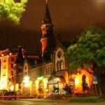 Der Burghof bei Nacht.......