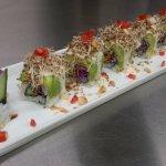 Vegan sushi.
