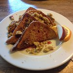 Rapberry and Walnut French Toast.