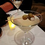 Titos Dirty Martini w/Blue Cheese Stuffed Olives