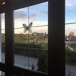 Blick über Schneeberg vom Restaurant