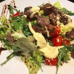 Beefsteak salad