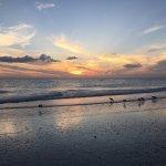 Sunset at Hilton Marco Island Beach Resort