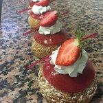 religieuse aux fraises