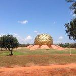 Auroville temple
