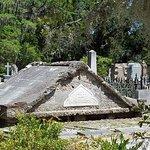 Memorial built on ruins of original plantation house