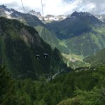 Views down towards Ischgl (not view from hotel).