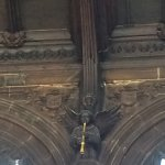 Gothic carved angel